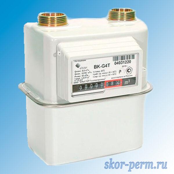 Счетчик газа BK-G4Т с термокорректором