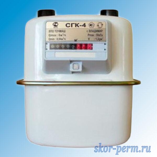 Счетчик газа СГК-4