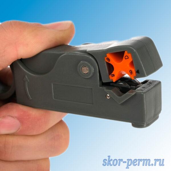 Стриппер для зачистки проводов 4-12 мм