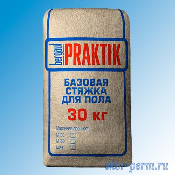 Стяжка для пола BERGAUF Praktik М200, 30 кг