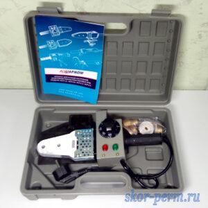 Комплект оборудования AQUAPROM P40/3 для сварки полипропилена 1500 Вт (20-25-32 мм)