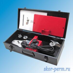 Комплект оборудования ASPIPE CN-028 для сварки полипропилена (20-25-63), 600 Вт, металлический кейс