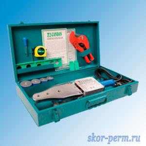 Комплект оборудования CANDAN СМ-06 для сварки полипропилена 1500 Вт (20-25-32-40)