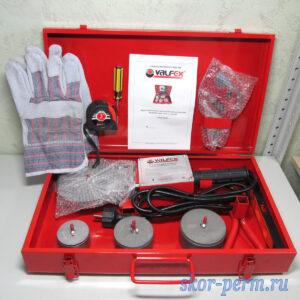 Комплект оборудования VALFEX VWM-04 для сварки полипропилена 2000 Вт (50-63-75 мм)
