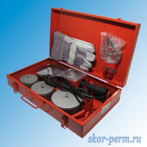 Комплект оборудования VALFEX VWM-04A для сварки полипропилена 1500 Вт (75-90-110 мм)