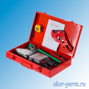 Комплект оборудования VALFEX VWM-03 для сварки полипропилена 1500 Вт (20-25-32-40-50-63 мм)