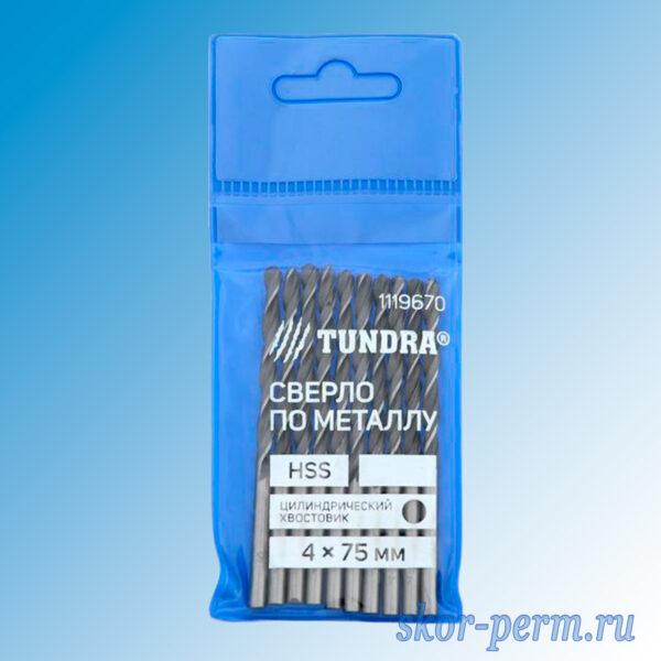 Сверло по металлу D=4,0 мм
