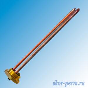 Нагревательный элемент RDT 1,2 кВт нержавейка радиальный