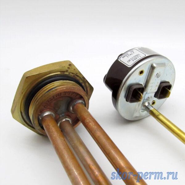 ТЭНовая группа RDT TW 2,5 кВт (тэн + термостат + прокладка)