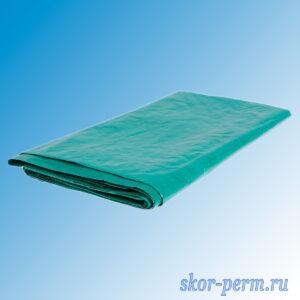 Тент защитный с люверсами плотность 90 г/м2 зеленый