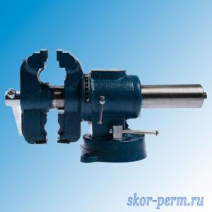 Тиски слесарные поворотные 100 мм, в двух плоскостях, ВЧ-50