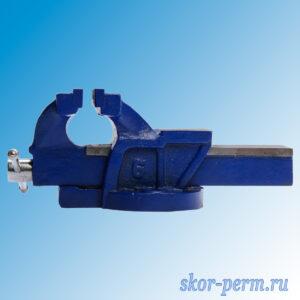 Тиски слесарные 150 мм, с наковальней, высокопрочный чугун ВЧ-40