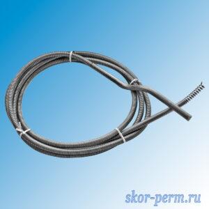 Трос сантехнический пружинный 13 мм длина 10 м