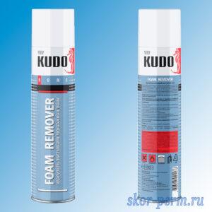 Удалитель пены монтажой KUDO HOME 400 мл