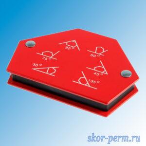 Угольник магнитный для сварки (30, 45, 60, 75, 90, 135 градусов) усилие до 11 кг