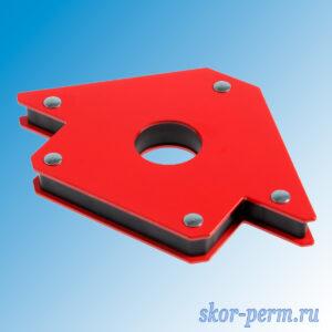 Угольник магнитный для сварки (45, 90, 135 градусов) усилие до 23 кг