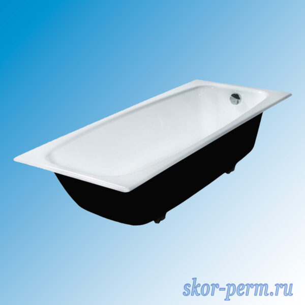 Ванна чугунная с ножками