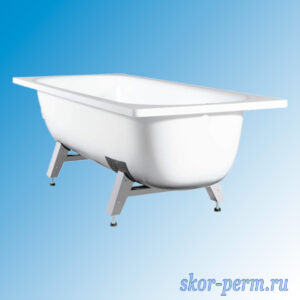 Ванна стальная L=1500 мм с ножками