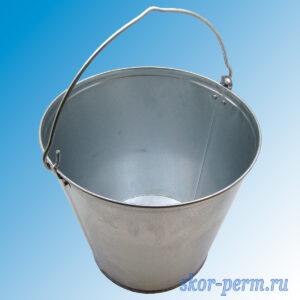 Ведро оцинкованное 15 литров