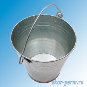 Ведро оцинкованное 5 литров