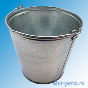 Ведро оцинкованное 9 литров