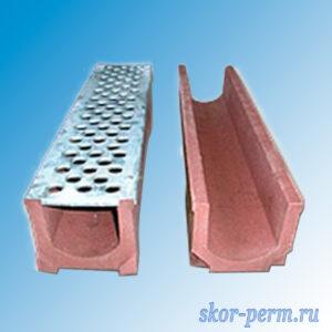 Водоотвод полимерпесчаный