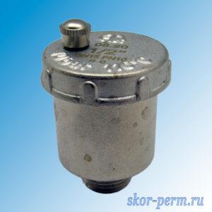 Воздухоотводчик автоматический 1/2″ AQUALINK вертикальный