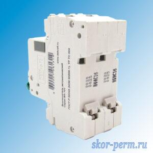 Выключатель автоматический ВА-101 2P 16А-C
