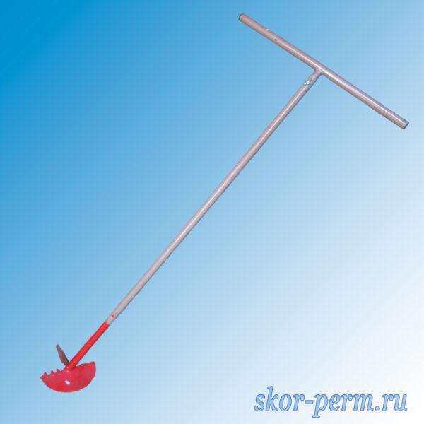 Ямобур ручной D=180 мм, длина бурения 1,2 м