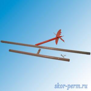 Ямобур 180 мм, длина бурения 1,2 м