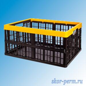 Ящик складной 480х350х230, с перфорированными стенками