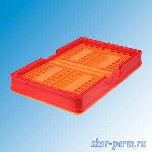 Ящик универсальный раскладной 385х255х210 с ручками