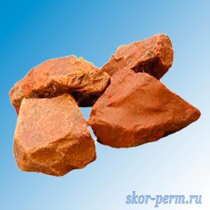 Камни для банных печей ЯШМА колотый (10 кг)