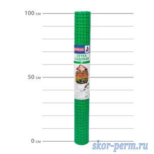 Сетка пластиковая 20х20, 1,0х20 (20 м2) зеленая