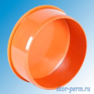 Заглушка 110 ПП наружная