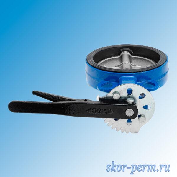 Затвор поворотный дисковый Ду150