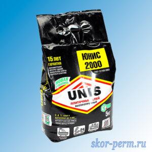 Клей для плитки UNIS 2000 5 кг