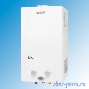 Колонка газовая SUPERLUX 10L СF NG NEW (19 кВт, 10 л)